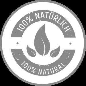 100% natürliches Futter